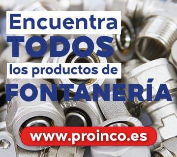 Encuentra todos los productos de fontanería en proinco